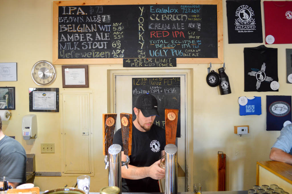 Spotted Dog Brewery Good Eats Mesilla Local Mike Puckett GW-4